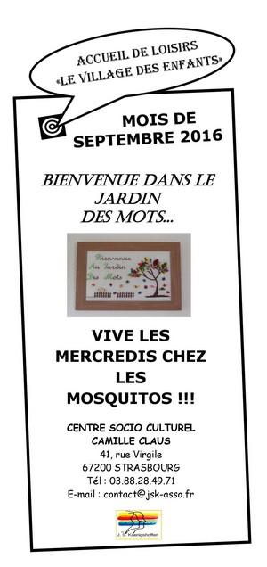 ALSH septembre Mosquitos