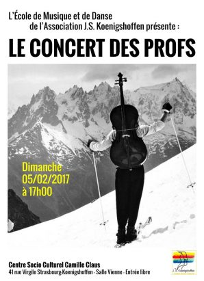 Concert des professeurs de musique