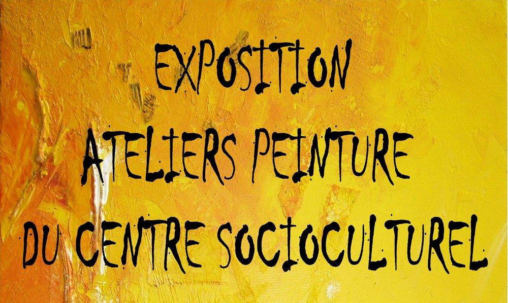 Exposition des ateliers peinture