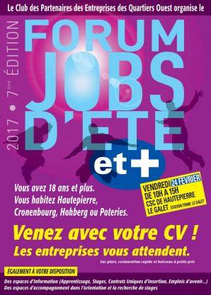 Forum Job d'été et + au Galet