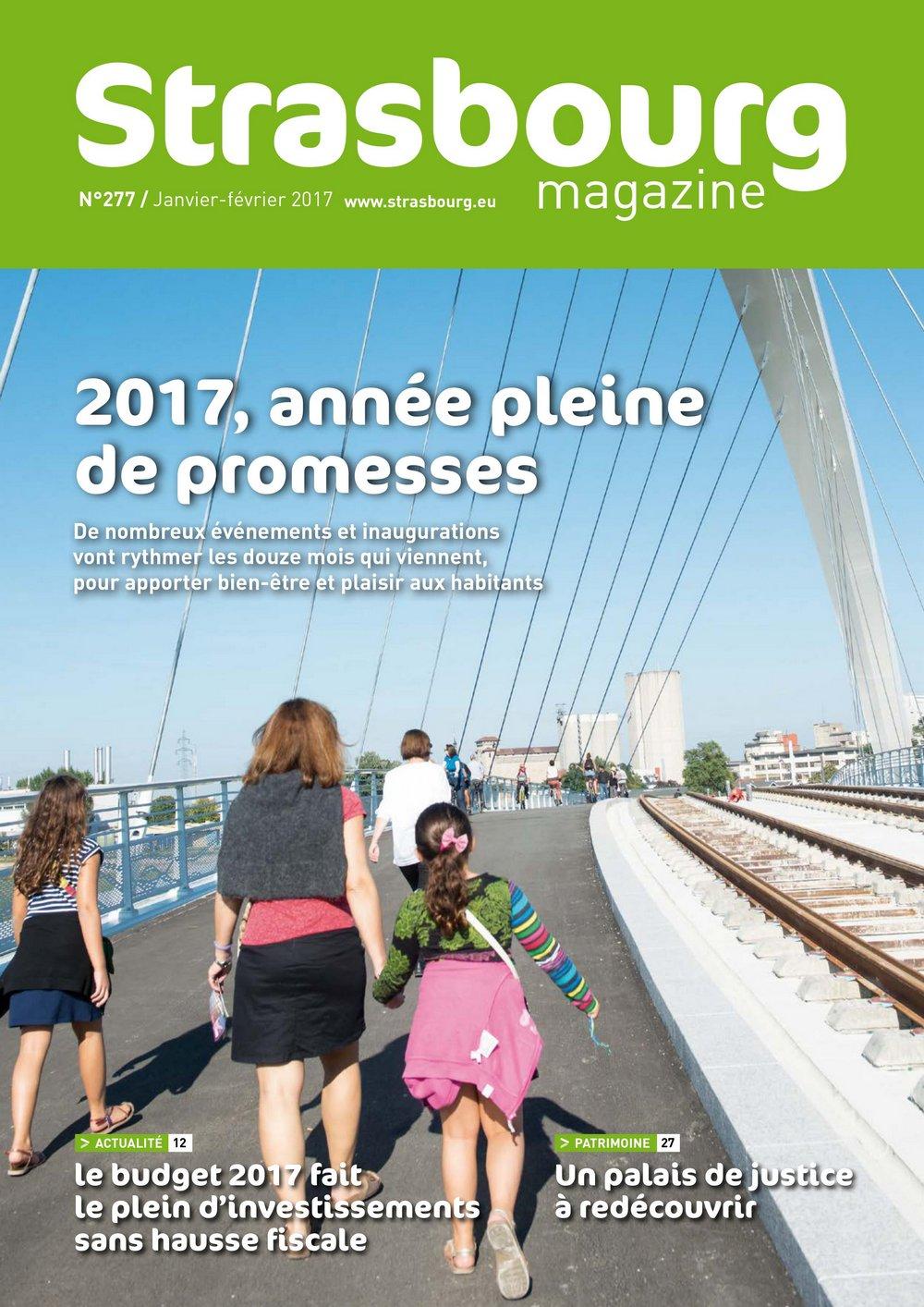 Strasbourg Magazine – Une œuvre utopiste et fédératrice