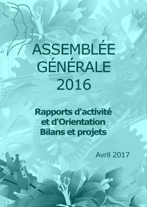 Rapport d'activité AG 2016