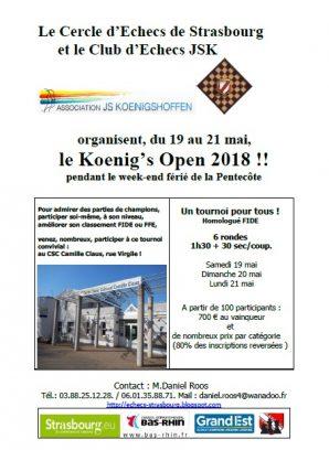 Koenig's Open 2018 !