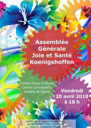 Assemblée Générale Joie et Santé Koenigshoffen