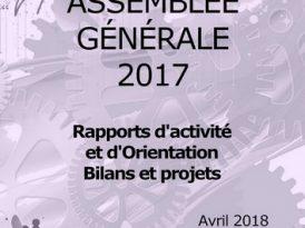 Rapports d'activité et d'orientation – AG 2017