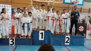 JSK-kyokushinkai présent lors de la coupe d'Alsace