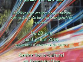 Exposition des ateliers peinture à l'huile !