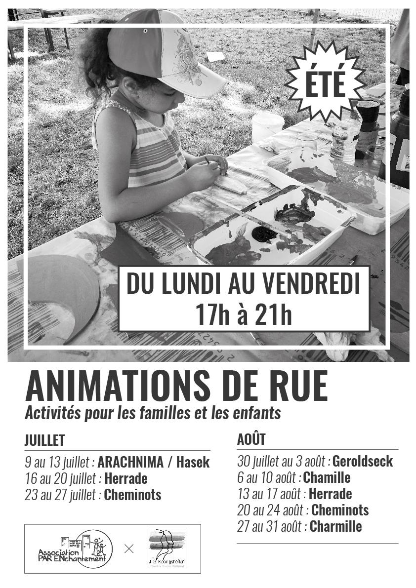 Animation de rue été à Koenigshoffen