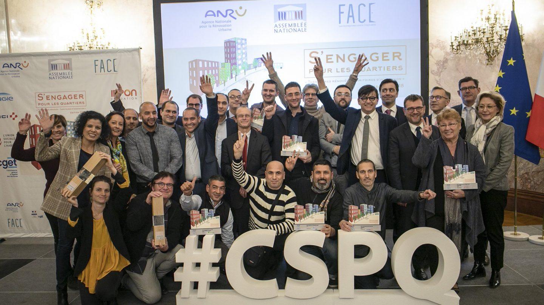 Le DACIP meilleur projet d'insertion du concours «s'engager pour les quartiers» 2018
