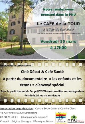 Café associatif à la Tour du Schloessel