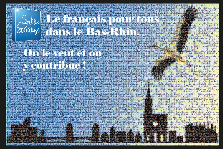 Le français pour tous dans le Bas-Rhin, on le veux et on y contribue !
