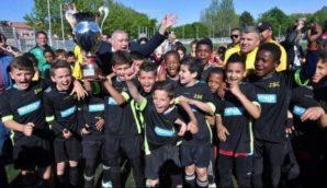 Stage de Pâques de la section jeune de la JSK Football