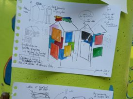 Venez construire la cabane à livres !